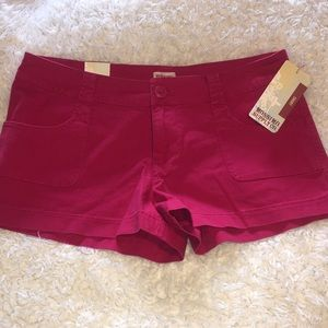 Red mossimo shorts NWT